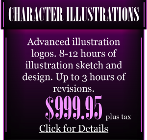 Character and Illustration Logo Design