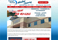 Meridian Idaho Web Design: Picture Perfect Window Cleaning