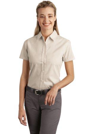 Port Authority® - Ladies Short Sleeve Easy Care, Soil Resistant Shirt. L507