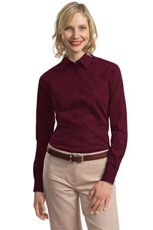 Port Authority® - Ladies Tonal Pattern Easy Care Shirt. L613