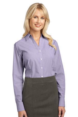 Port Authority® - Ladies Plaid Pattern Easy Care Shirt. L639