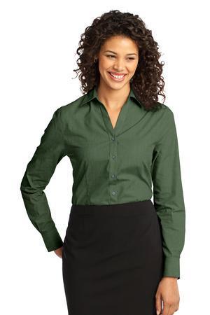 Port Authority® - Ladies Crosshatch Easy Care Shirt. L640
