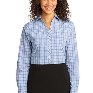 Port Authority® - Ladies Crosshatch Plaid Easy Care Shirt. L641