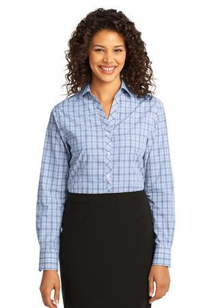 Port Authority® - Ladies Crosshatch Plaid Easy Care Shirt. L641