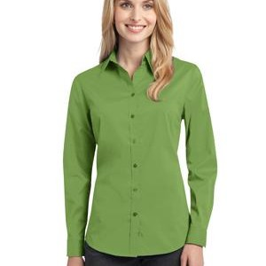NEW Port Authority® - Ladies Stretch Poplin Shirt. L646