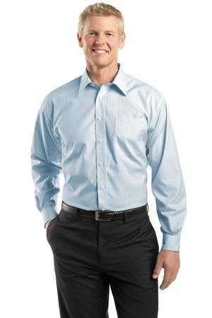Red House® - Fine Line Non-Iron Button-Down Shirt. RH22