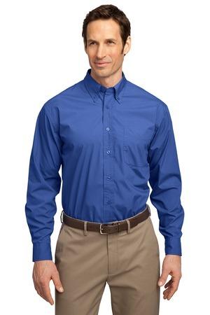 Port Authority® - Long Sleeve Easy Care, Soil Resistant Shirt. S607