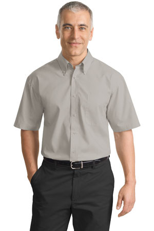 Port Authority® - Short Sleeve Value Poplin Shirt. S633