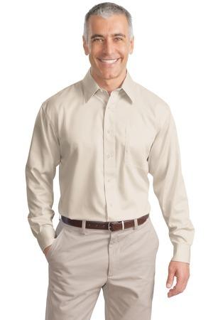 Port Authority® - Long Sleeve Non-Iron Twill Shirt. S638