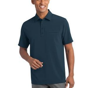 NEW Port Authority® - Ultra Stretch Pocket Polo. S650