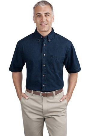 Port & Company® - Short Sleeve Value Denim Shirt. SP11