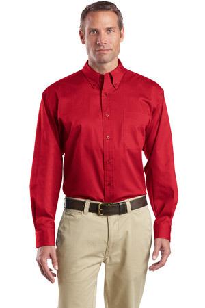 CornerStone® - Long Sleeve SuperPro Twill Shirt. SP17